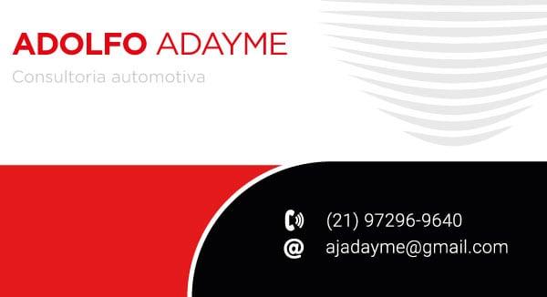 Cartão de Visita | Consultor Automotivo