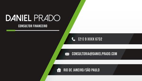 Cartão de Visita | Consultor Financeiro